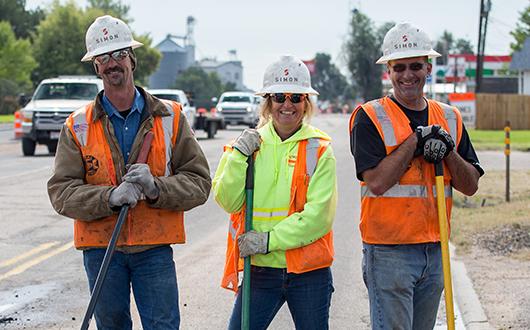 simon construction team